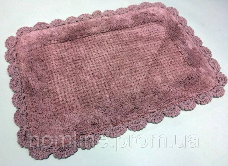 Коврик для ванной Irya Denzi 50*70 темно-розовый