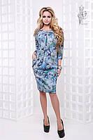 Ангоровое женское платье Алсу больших размеров