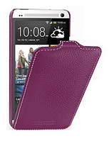 Чохол Melkco Leather Case Jacka HTC One mini M4-purple