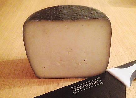 Zinka козий сыр полутвёрдый выдержанный с пажитником  /половинка 350g/, фото 2