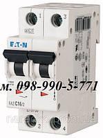 Автоматический выключатель Eaton/Moeller 2pol PL4 B 6A