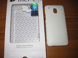 Чехол Melkco Leather Snap Cover HTC One mini M4-white