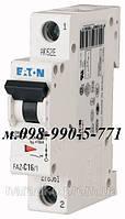 Автоматический выключатель Eaton/Moeller 1pol PL6-C 40A