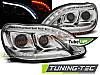 Тюнингованные фары В СТИЛЕ W222 на Mercedes S W220 1998-2005 LED / TUBE LIGHT