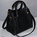 Женская замшевая mini сумка-шоппер Mісhаеl Коrs (в стиле Майкл Корс) с отстёгивающейся косметичкой, фото 6