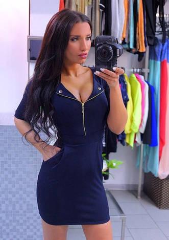 Платье е402