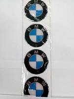 Силиконовые 3D наклейки на диски и колпаки BMW