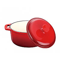 Кастрюля Peterhof PH 15778-18 red
