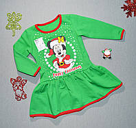 """Платье """"Счастливого Рождества"""" (1, 2 года)"""