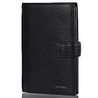 Кожаный мужской кошелек DINGGO (ДИНГГО) DG01018-black