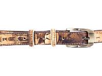 Женский узкий кожаный ремень MAYBIK (МЕЙБИК) D355573