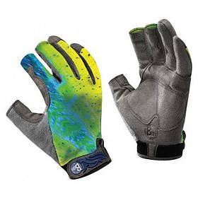 Перчатки рыболовные BUFF Pro Series Fighting Work II Gloves dorado