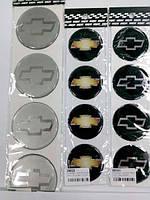 Силиконовые наклейки на диски и колпаки chevrolet