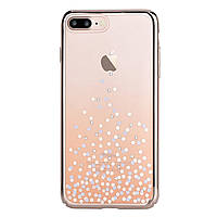 Чехол Comma Crystal Unique IPHONE 7Plus/8Plus (Champagne Gold), фото 1