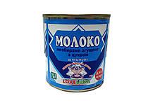 Молоко сгущенное белое  8,5% ДСТУ  ж/б банка 0.38л