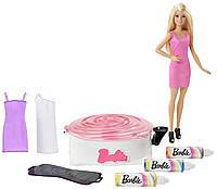 Игровой набор с куклой  Barbie  Арт Дизайн одежды для Барби.