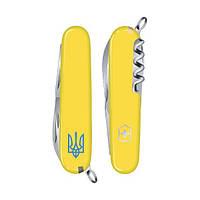 Складной нож Victorinox Spartan Ukraine, желтый