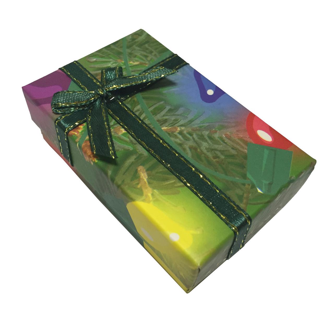 Подарочная коробочка Лиственная 8*5*3 см для набора