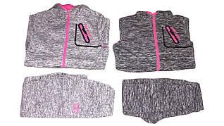 Костюм спортивный-двойка для девочки, S&D, размеры 116-146, арт. CH-3687
