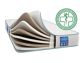 Матрас ортопедический беспружинный DonSon Ecolex (BREATH Late) 90*200