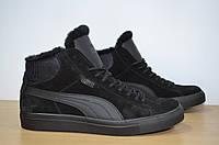 Зимние мужские ботинки Puma.Натуральная кожа.