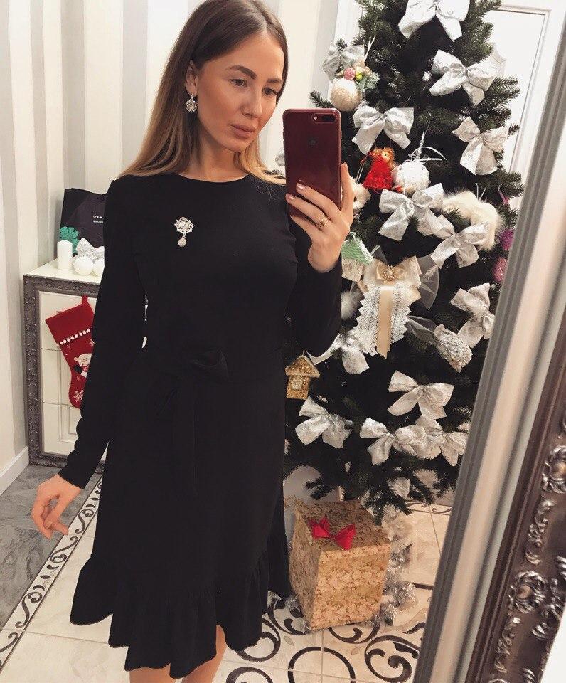 """Элегантное женское платье """"Меллиса"""""""