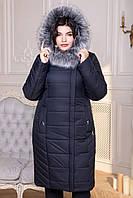Пальто Марсель с искусственным мехом
