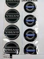 Силиконовые наклейки на диски и колпаки volvo