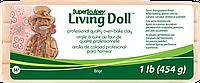 Пластика для кукол телесная бежевая Beige 454 грамма Living Doll Super Sculpey, ZSLD1, 50040001