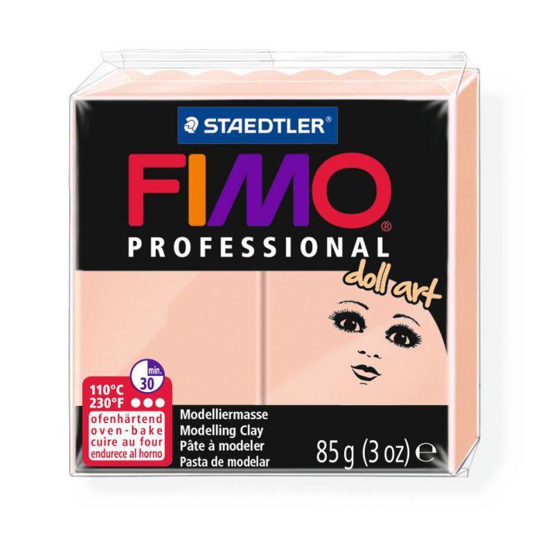Пластика, фимо долл арт Fimo Professional doll art, розовая, 85 грамм, Staedtler, 8027432