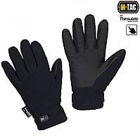 M-Tac перчатки Fleece Thinsulate Navy Blue, фото 1