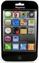 Iphone – набор магнитов, 18 штук