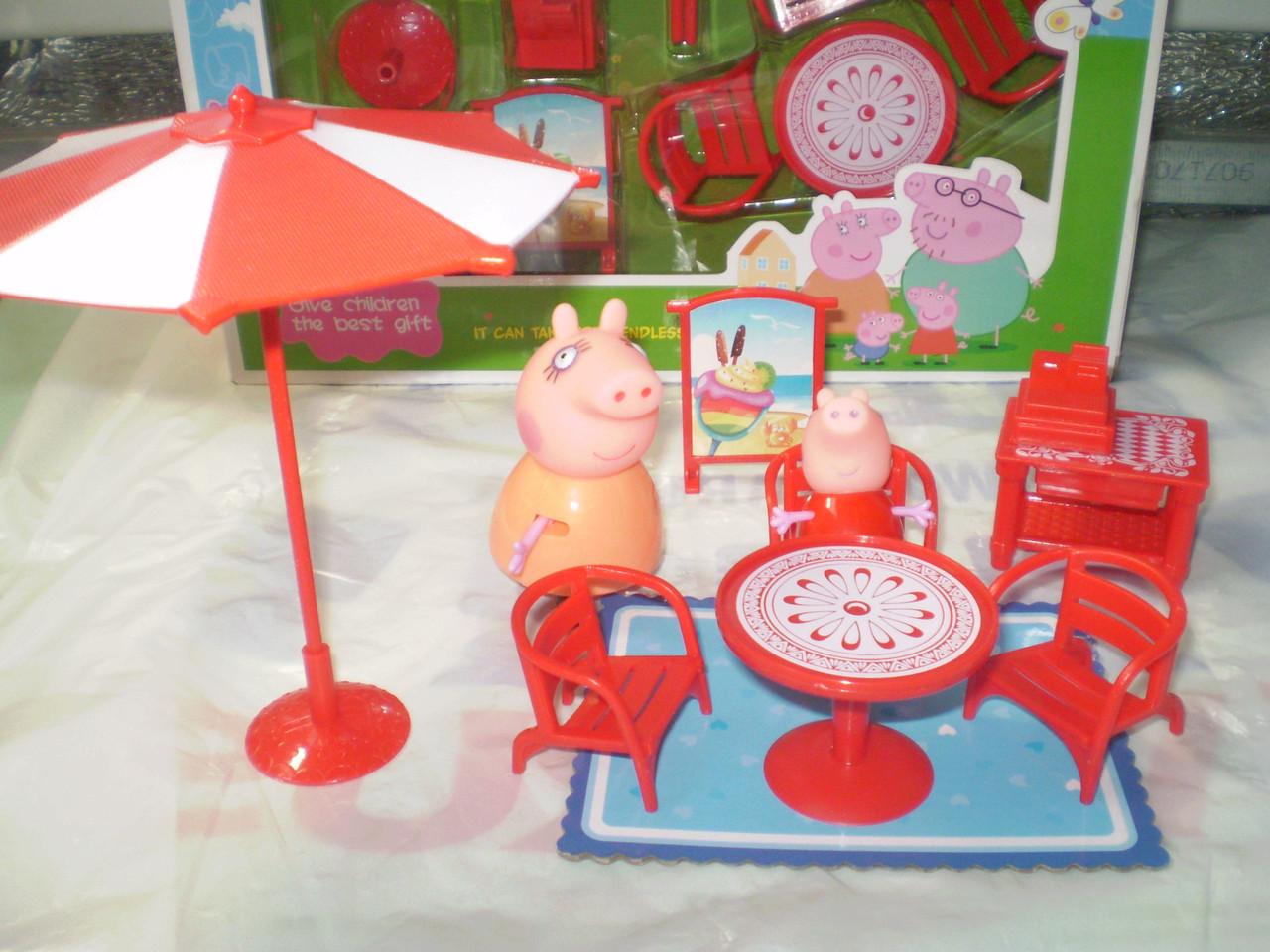 Пляжная мебель Свинка Пеппа