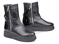 Ботинки женские кожаные V 1048