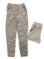 Штаны спортивные для девочек оптом, F&D, размеры 134-164  арт. FD 7125