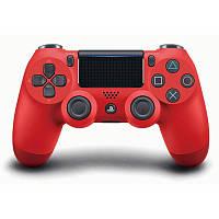 Беспроводной джойстик Dualshock 4 V2 Magma Red (PS4)
