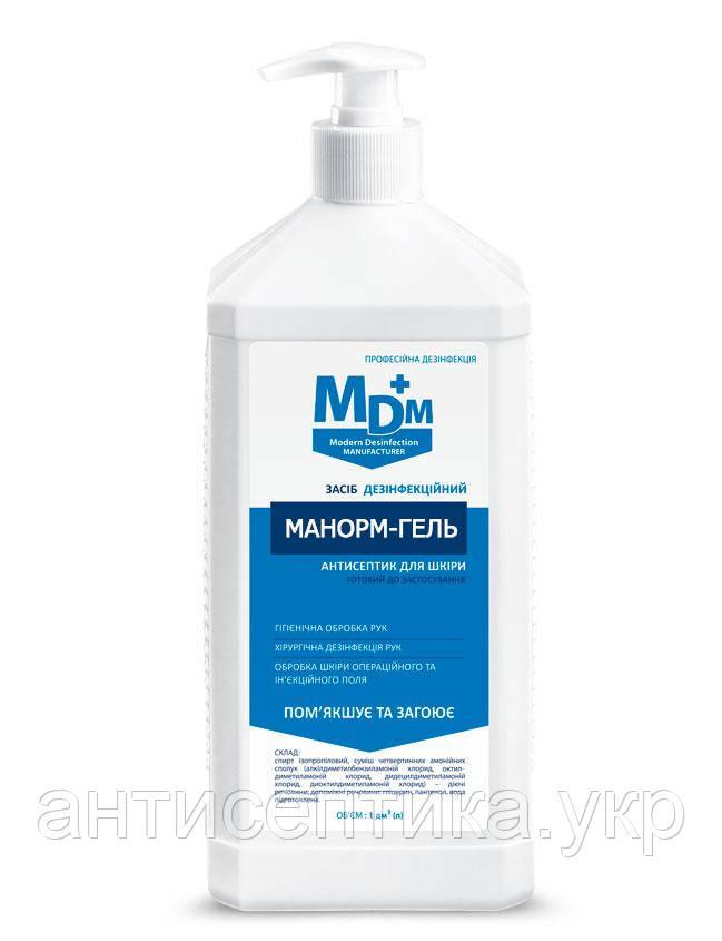 Манорм гель 1л антисептик для рук