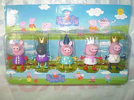 Фигурки Королевство Свинка , набор из 5 фигурок