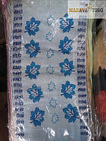 Полотенца кухонные из льна (20*45 см) Листочки