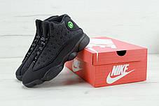 Мужские баскетбольные кроссовки Nike nike Air Jordan 13 Retro Black Cat. ТОП Реплика ААА класса., фото 3