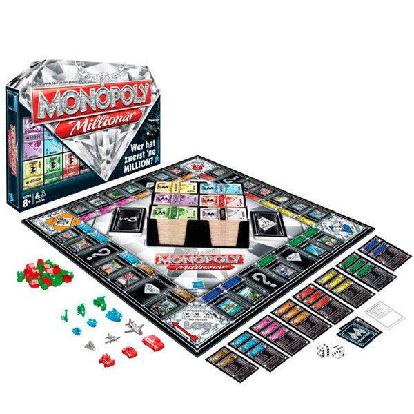 Игра настольная монополия миллионер Hasbro 98838