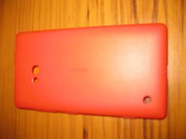 Чехол накладка СС-1057 Nokia 720 -оригинал красный
