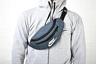 Бананка Nike текстиль синяя