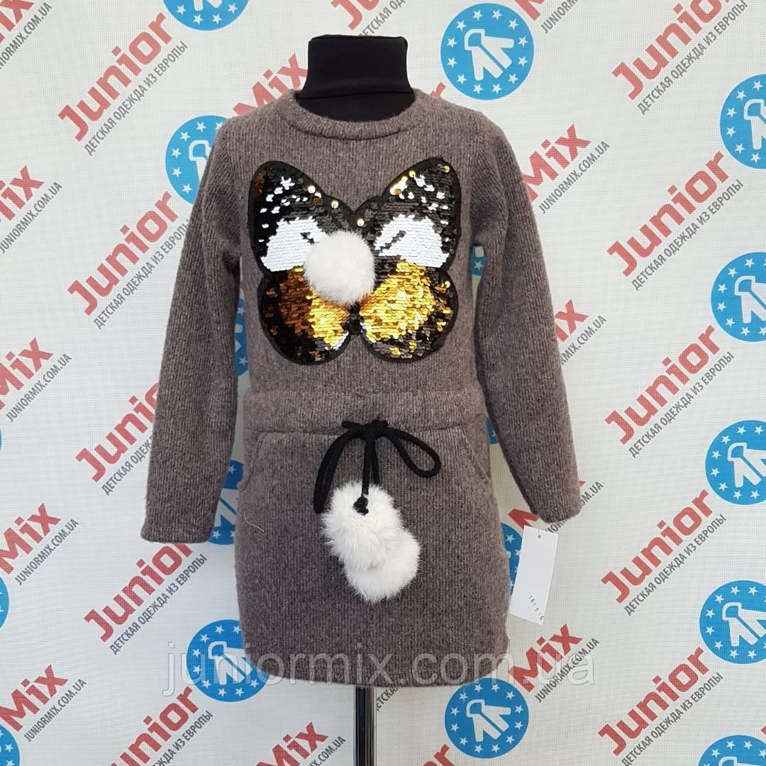 Детская утепленая туника для девочек оптои B.B.W, фото 1