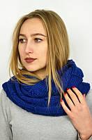 Модный в этом сезоне шарф-снуд