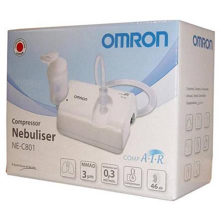Ингалятор (небулайзер) компрессорный OMRON NE-C801, фото 2