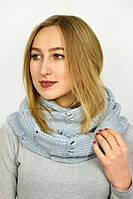 Стильный зимний шарф-хомут