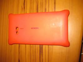 Чехол с функцией беспроводной зарядки Nokia Lumia 720 (CC-3064 красный)