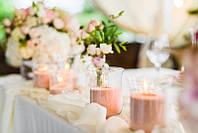 Цветные свадебные насыпные свечи - все цвета