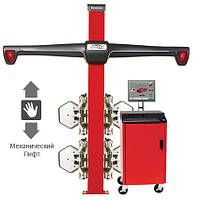 Стенд для регулировки развала-схождения, технология 3-D, 2-х камерный с механическим лифтом, ПО WinAlign.